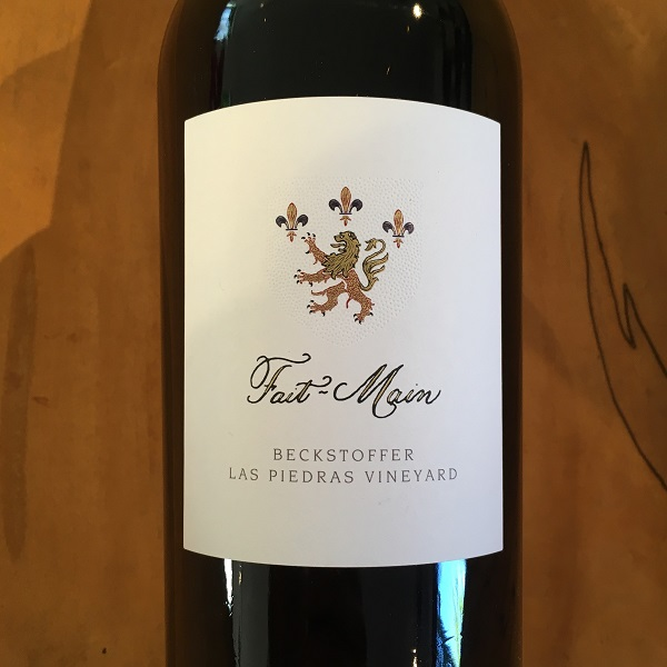 Fait-Main 'Beckstoffer Las Piedras Vineyard' Cabernet Sauvignon 2014 St. Helena  - K. Laz Wine Collection