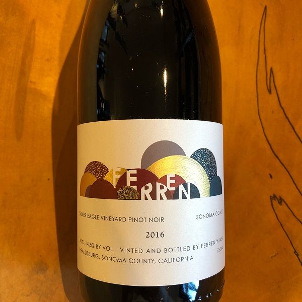 Ferren 'Silver Eagle Vineyard' Pinot Noir 2016 - K. Laz Wine Collection