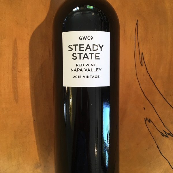 Grounded Wine Co.  'Steady State' Red 2015  - K. Laz Wine Collection
