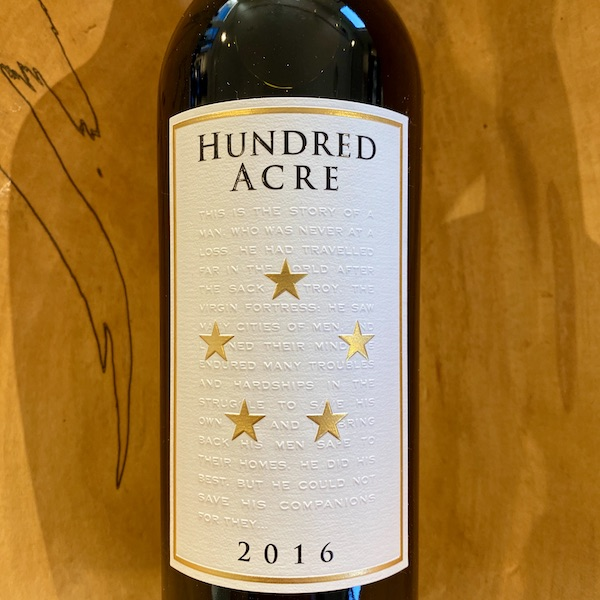 Hundred Acre 'Ark Vineyard' Cabernet Sauvignon 2016 - K. Laz Wine Collection