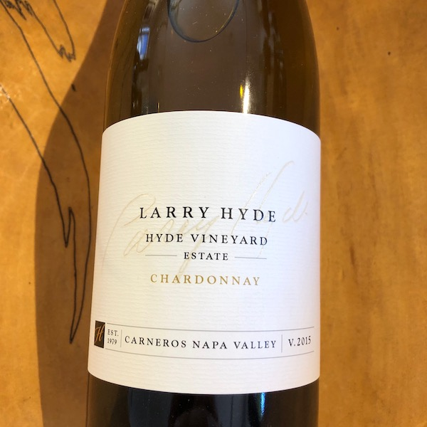 Hyde Vineyards  Estate Chardonnay 2015 - K. Laz Wine Collection