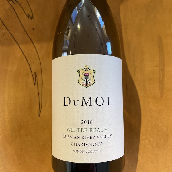DuMOL 'Wester Reach' Russian River Valley Chardonnay 2018 - K. Laz Wine Collection