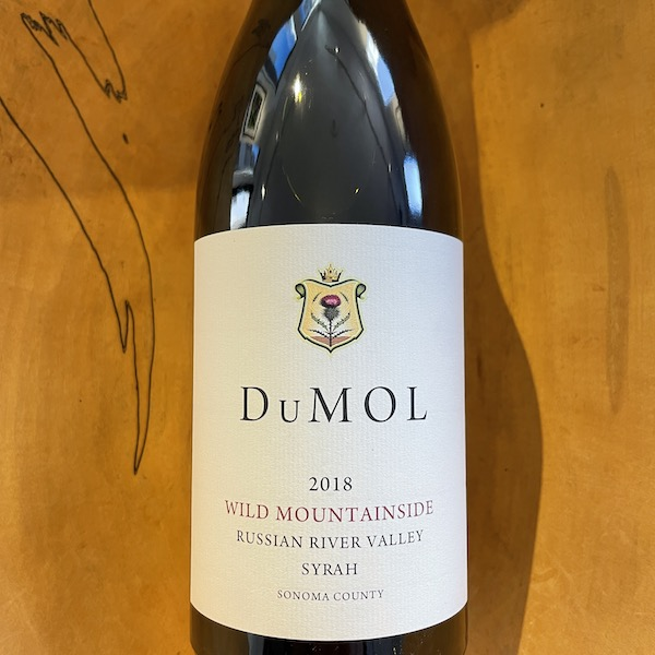 DuMOL 'Wild Mountainside' Russian River Valley Syrah 2018 - K. Laz Wine Collection