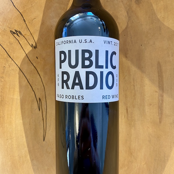 Grounded Wine Co. 'Public Radio' Red 2017 - K. Laz Wine Collection