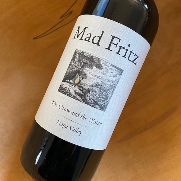 Mad Fritz 'The Crow and the Water' Dry Stout 26.6oz bottle - K. Laz Wine Collection