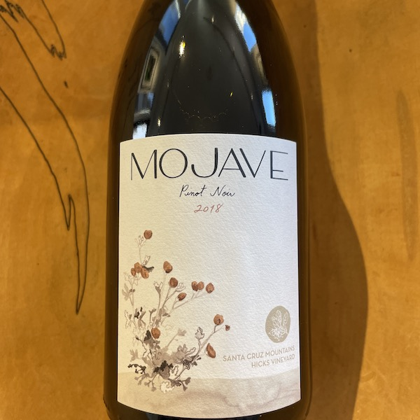 Mojave Santa Cruz Pinot Noir 2018 - Special Priced 3-Pack - K. Laz Wine Collection