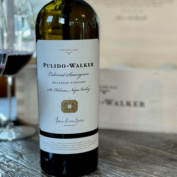Pulido-Walker 'Melanson Vineyard' Cabernet Sauvignon 2018 - K. Laz Wine Collection