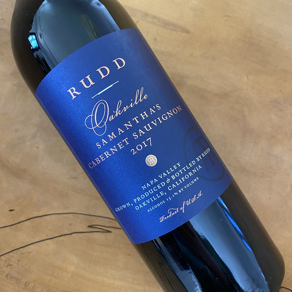 Rudd Oakville Estate 'Samantha's' Cabernet Sauvignon 2017 - K. Laz Wine Collection
