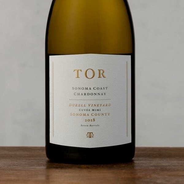 TOR 'Durell Vineyard, Cuvée Mimi' Sonoma Coast Chardonnay 2018- Special Priced 3-Pack - K. Laz Wine Collection