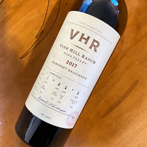 VHR-Vine Hill Ranch Cabernet Sauvignon 2017 - K. Laz Wine Collection