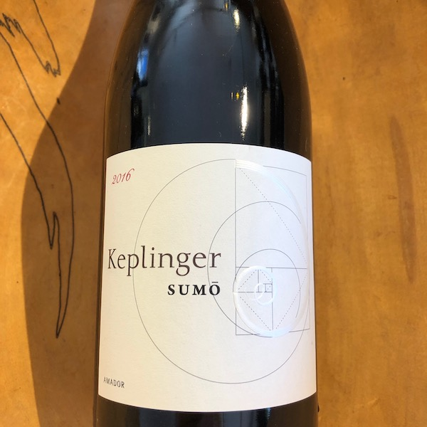 Keplinger Sumo Red 2016 - K. Laz Wine Collection