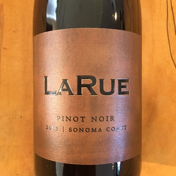 LaRue Sonoma Coast Pinot Noir 2013 Sonoma Coast  - K. Laz Wine Collection
