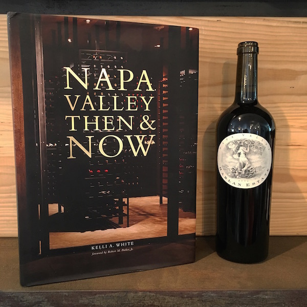 Napa Valley Then & Now Book & Wine Gift Set With Harlan Estate Red 2013 -
