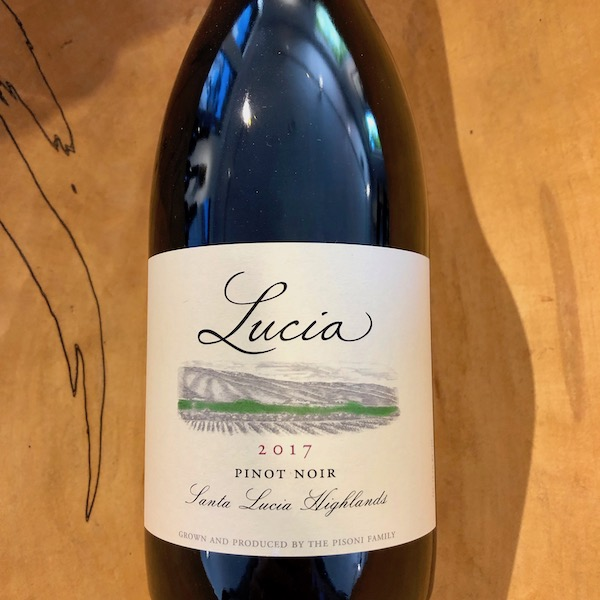 Lucia  Santa Lucia Highlands Pinot Noir 2017 - K. Laz Wine Collection