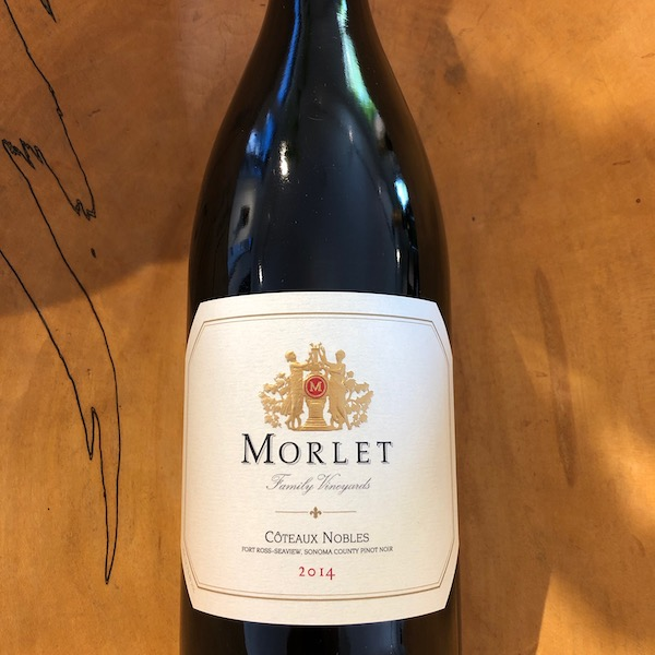 Morlet  'Coteaux Nobles' Pinot Noir 2014 - K. Laz Wine Collection