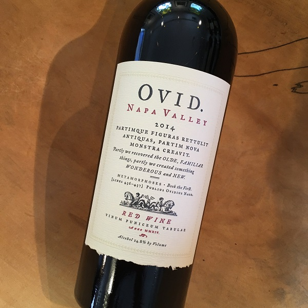 Ovid Estate Red 2014 Prichard Hill - K. Laz Wine Collection