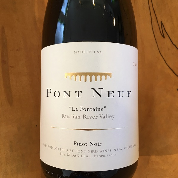 Pont Neuf 'La Fontaine' Pinot Noir 2014 Russian River Valley - K. Laz Wine Collection