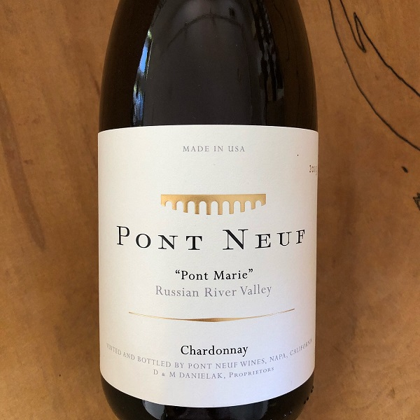 Pont Neuf 'Pont Marie' Chardonnay 2015 - K. Laz Wine Collection