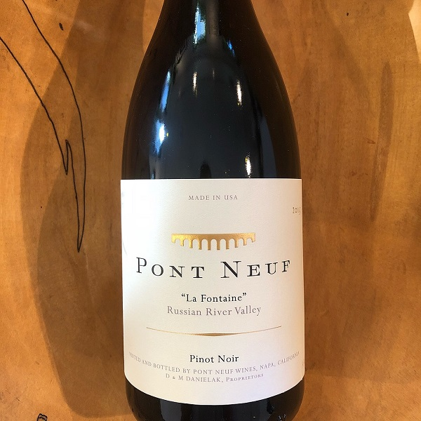 Pont Neuf 'La Fontaine' Pinot Noir 2015 - K. Laz Wine Collection