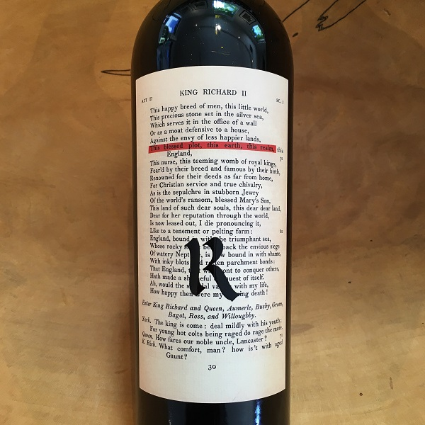Realm 'Bard' Red 2014 Napa Valley - K. Laz Wine Collection