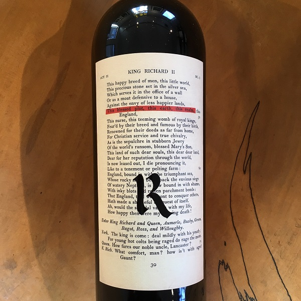 Realm  'The Bard' Napa Valley Red 2016 - K. Laz Wine Collection