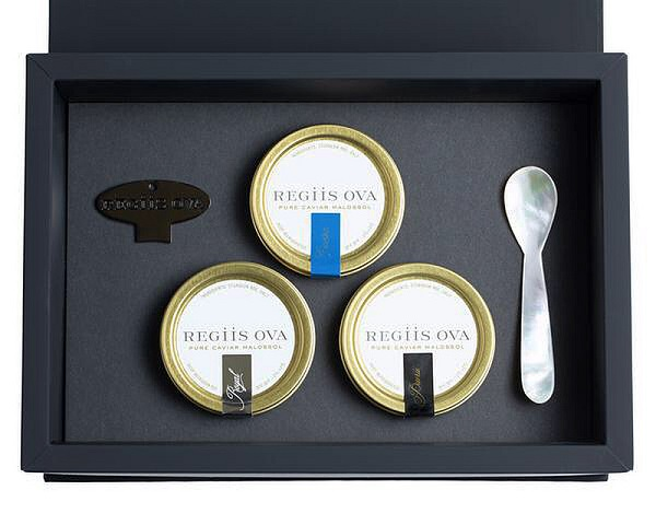 Regiis Ova Caviar Temptuous Trio Gift Set - with Special 2020 Pricing - K. Laz Wine Collection