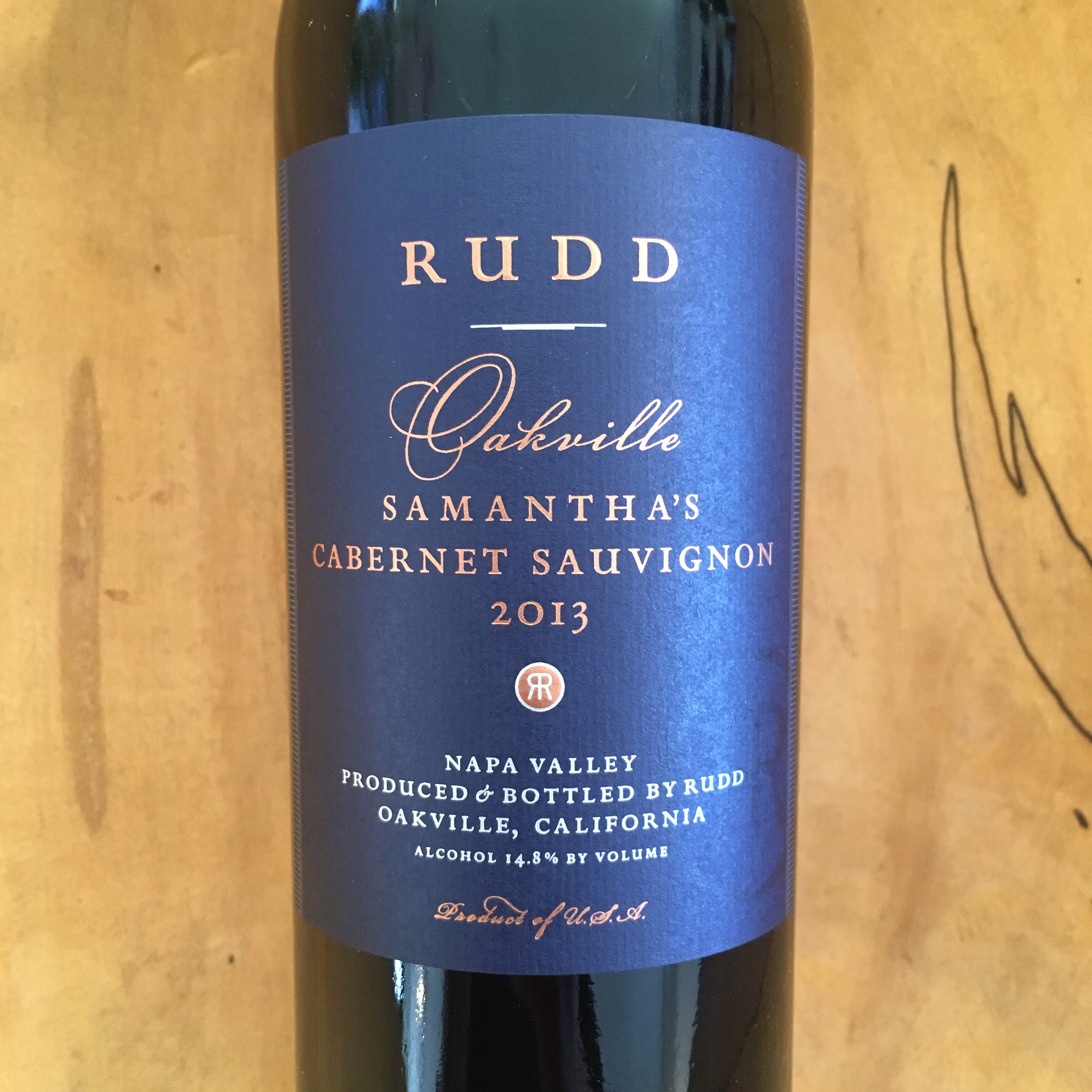 Rudd 'Samantha's' Cabernet Sauvignon 2013 Oakville - K. Laz Wine Collection