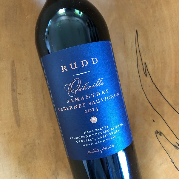 Rudd  'Samantha's' Cabernet Sauvignon 2014 - K. Laz Wine Collection