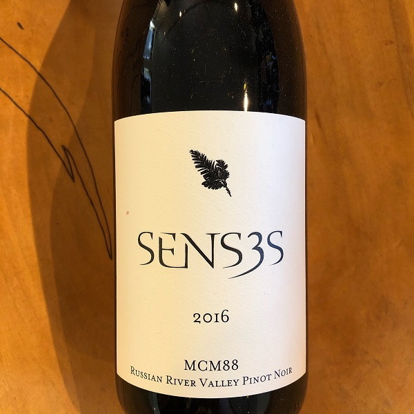 Senses 'MCM88' Pinot Noir 2016 - K. Laz Wine Collection