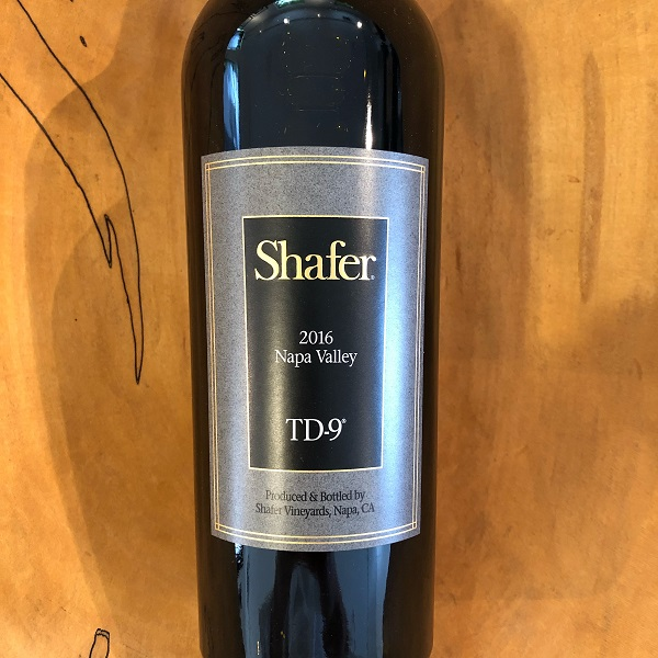 Shafer Vineyards  'TD-9' Napa Valley Red 2016 - K. Laz Wine Collection
