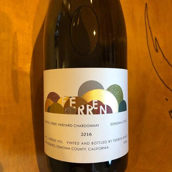Ferren 'Lancel Creek Vineyard' Chardonnay 2016 - K. Laz Wine Collection