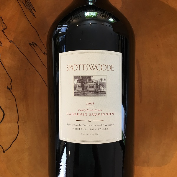 Spottswoode Estate Cabernet Sauvignon 2008 St. Helena - K. Laz Wine Collection