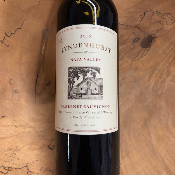 Spottswoode 'Lyndenhurst' Cabernet Sauvignon 2016 - K. Laz Wine Collection