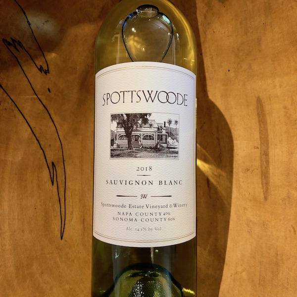 Spottswoode Sauvignon Blanc 2018 - K. Laz Wine Collection