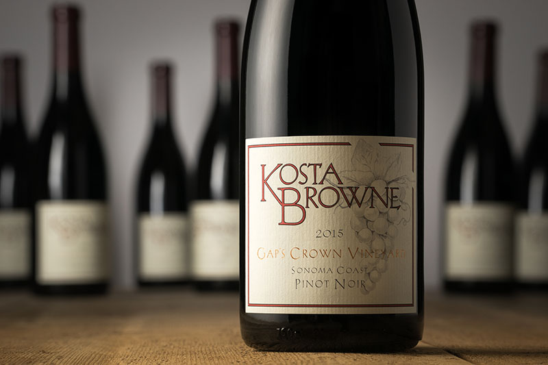 2015 Gap's Crown Vineyard Sonoma Coast - Kosta Browne Winery