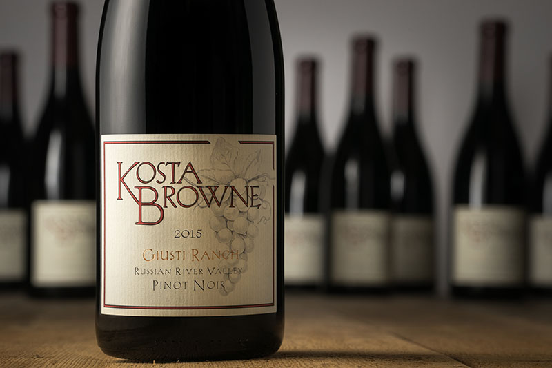 2015 Giusti Ranch Russian River Valley - Kosta Browne Winery
