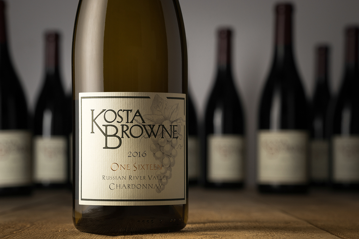 2016 One Sixteen Russian River Valley Chardonnay - Kosta Browne Winery