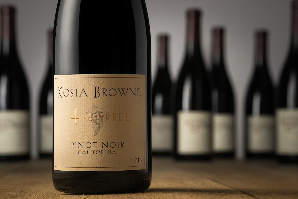 2017 4-Barrel California - Kosta Browne Winery