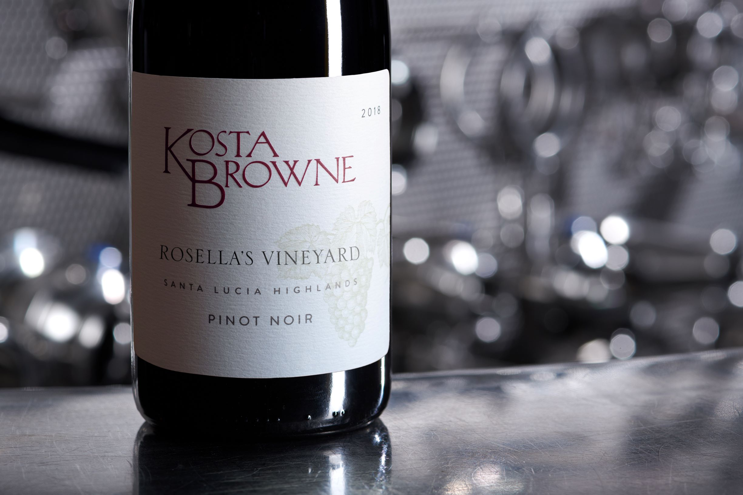 2018 Rosella's Vineyard Santa Lucia Highlands, Pinot Noir - Kosta Browne Winery