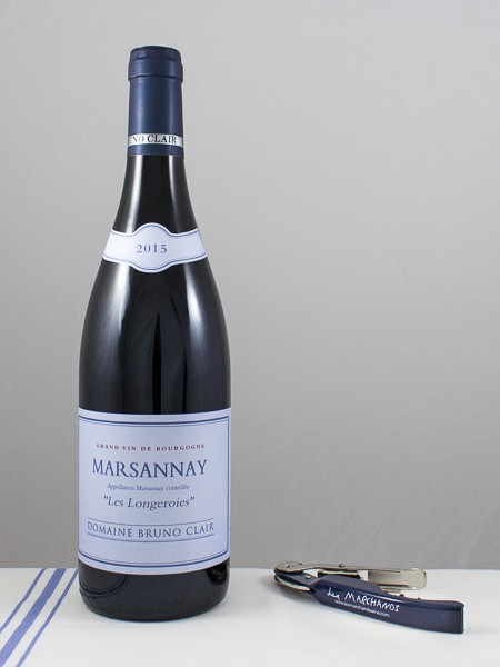 Bruno Clair Marsannay Les Longeroies 2015  - Les Marchands Restaurant & Wine Shop