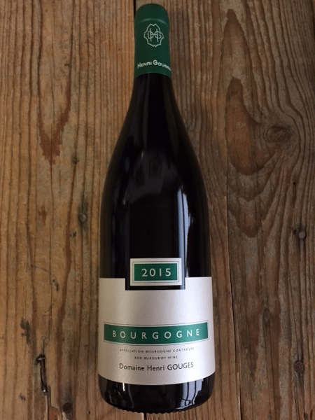 Henri Gouges Bourgogne Rouge 2015  - Les Marchands Restaurant & Wine Shop