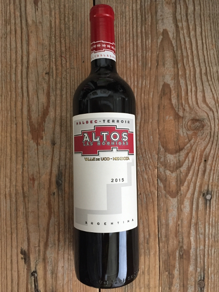 Altos Las Hormigas Malbec Terroir 2015  - Les Marchands Restaurant & Wine Shop