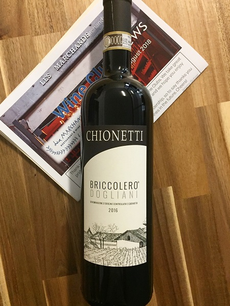 Chionetti Dogliani Briccolero 2016  - Les Marchands Restaurant & Wine Shop