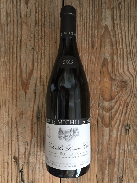 Louis Michel Chablis Butteaux Vieilles Vignes 2015  - Les Marchands Restaurant & Wine Shop