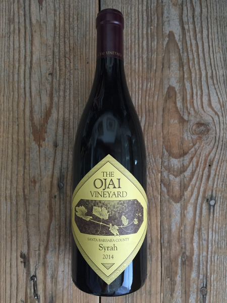 Ojai Syrah Santa Barbara County 2014  - Les Marchands Restaurant & Wine Shop