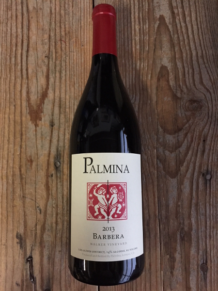 Palmina Barbera Santa Ynez Valley 2013  - Les Marchands Restaurant & Wine Shop