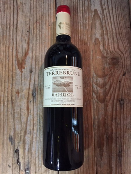 Terrebrune Bandol Rouge 2012  - Les Marchands Restaurant & Wine Shop