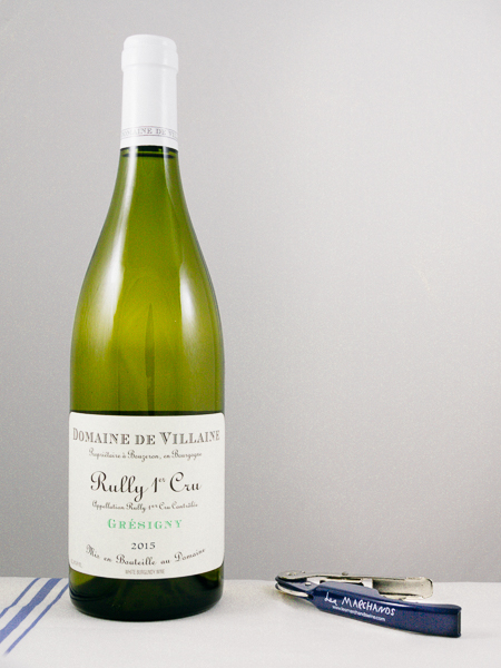 AP de Villaine Rully Gresigny Blanc 2015  - Les Marchands Restaurant & Wine Shop