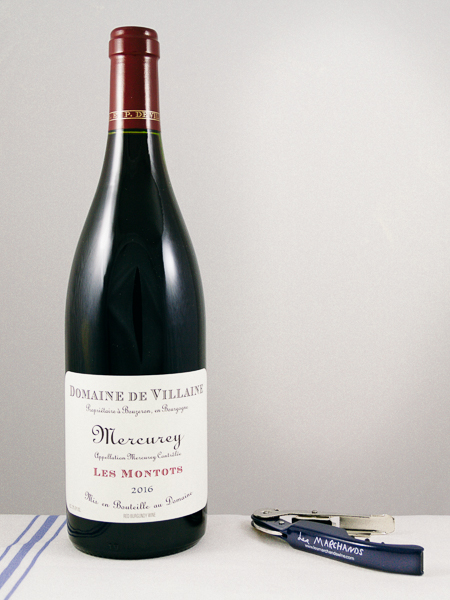 AP de Villaine Mercurey Les Montots Rouge 2016  - Les Marchands Restaurant & Wine Shop