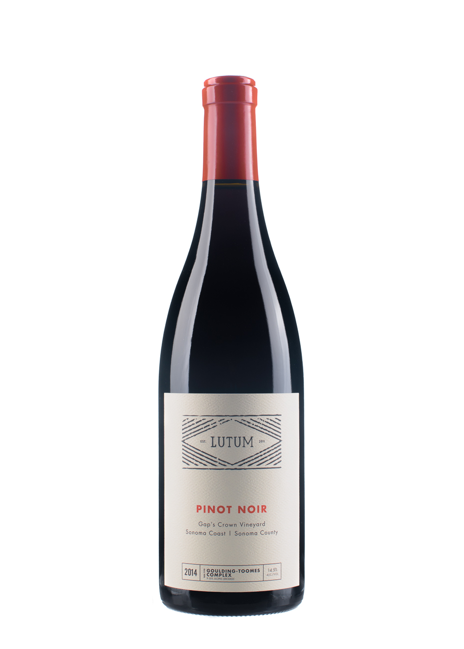 2014 Gap's Crown Vineyard Pinot Noir  - Lutum Wines